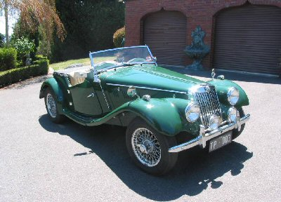 Tony Pettigrew's 1952<br>MG TF 1250