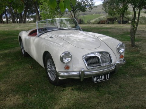Colin Brown's 1962<br>MG A