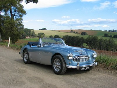 Brian Skewes's 1962<br>Austin-Healey 3000 Mark II BJ7