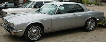 Ken and Karen McDonald�s two-door Jaguar XJ6
