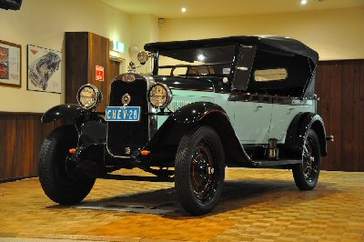 Rex Hall's 1928<br>Chevrolet AB Tourer