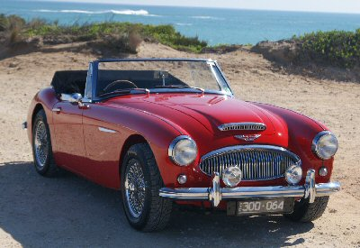 Rex Hall's 1964 Austin-Healey BJ8 3000