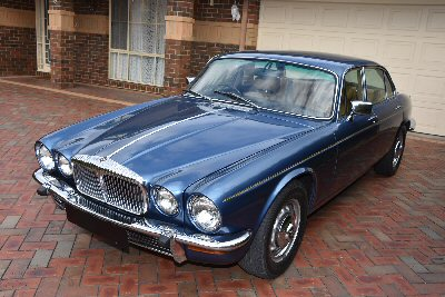 Gordon Lindner's 1979<br>Daimler Sovereign