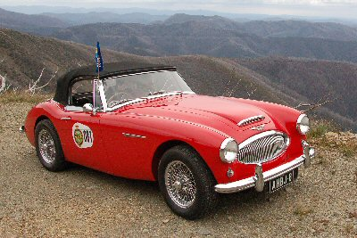 Gordon Lindner's 1964<br>Austin-Healey 3000