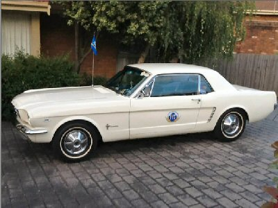 Ian Terry's 1965<br>Ford Mustang Coupe