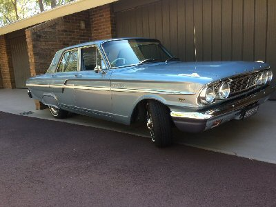 Peter Hibbert's 1964<br>Ford Fairlane 500 Sedan