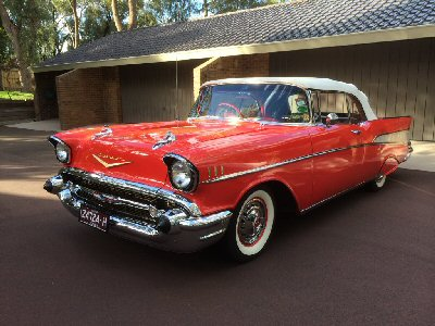 Peter Hibbert's 1957<br>Chevrolet Bel Air Convertible
