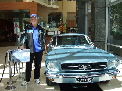 Peter Hibbert's 1964<br>Ford Mustang Fastback 2+2 C