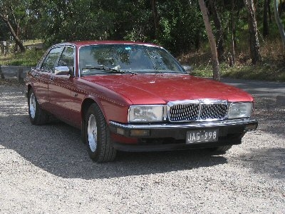 Gregory Anglin's 1988<br>Jaguar XJ40 Sovereign