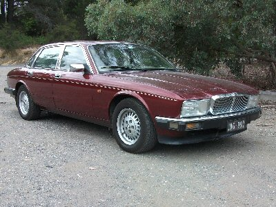 Gregory Anglin's 1992<br>Jaguar XJ40 Sovereign