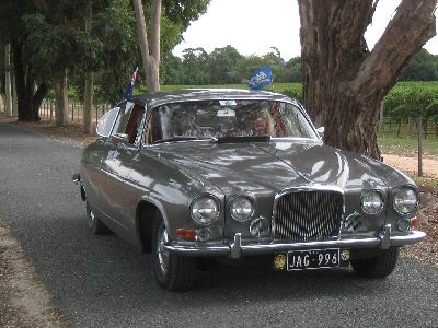 Gregory Anglin's 1966<br>Jaguar Mark 10