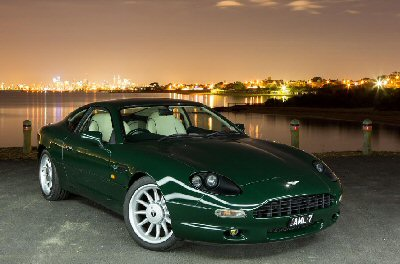 Trevor Beaumont's 1996<br>Aston Martin DB7