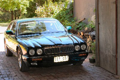 Richard Hogg's 1995 Jaguar XJ6 X300